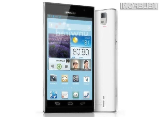 Huawei bo na letošnjem MWC-ju predstavil naslednika lanskoletnega modela Ascend P1.