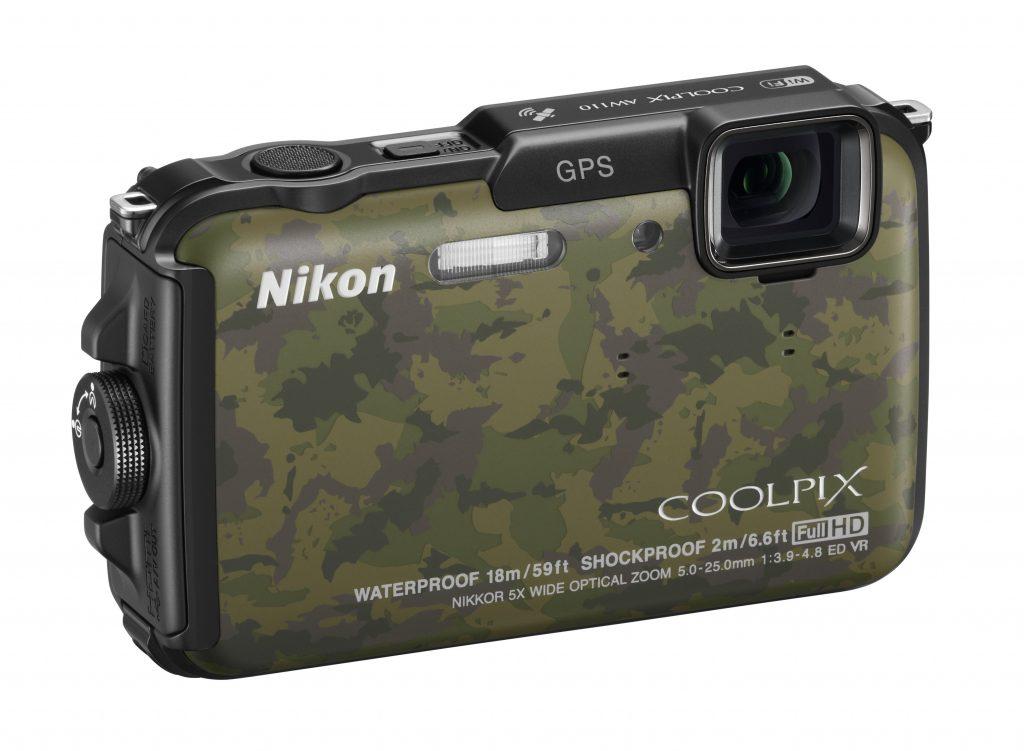 Robustni fotoaparat, ki ga lahko upravljamo z gibi
