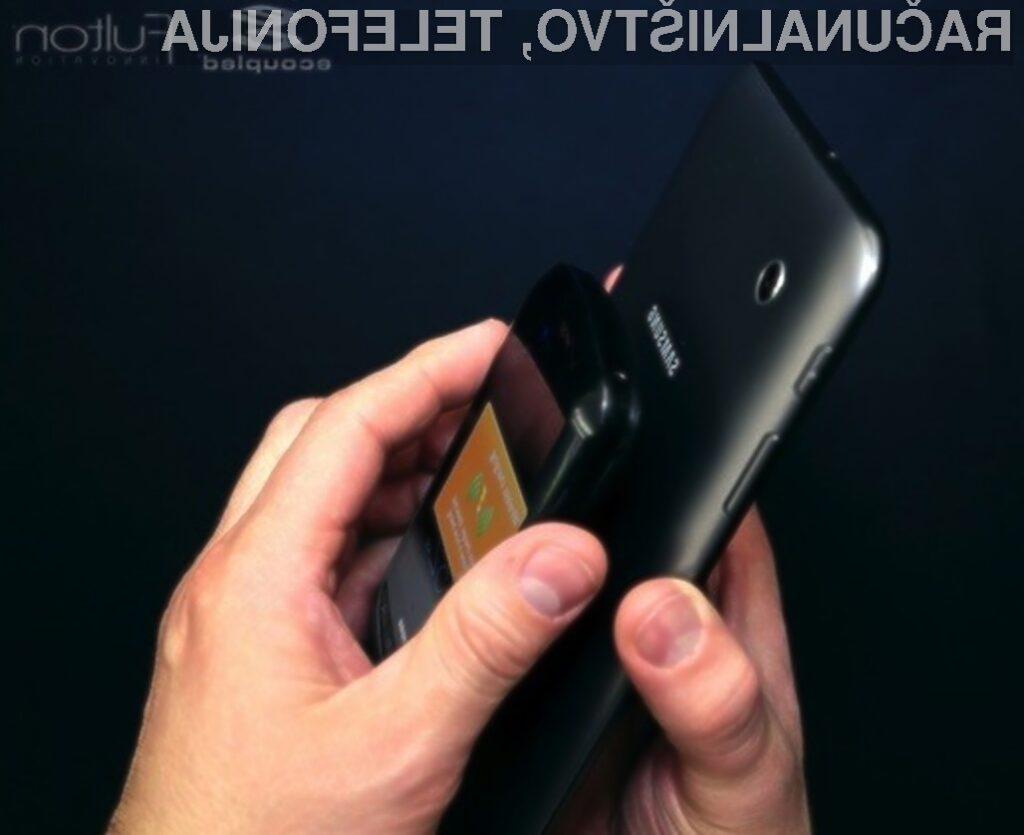 Tablične računalnike bomo kmalu uporabljali še kot polnilce za pametne mobilne telefone.