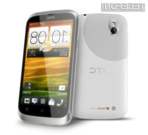 Pametni mobilni telefon HTC Desire U združuje nizko ceno z vseopravilnostjo.