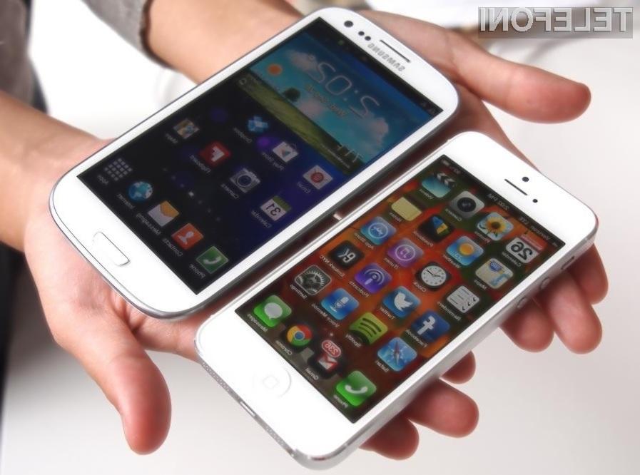 Tudi v letošnjem letu bo potekal neizprosen boj med podjetjema Apple in Samsung.