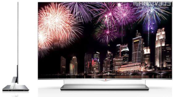 LG 55EM9700 je dober, a izredno drag televizor.