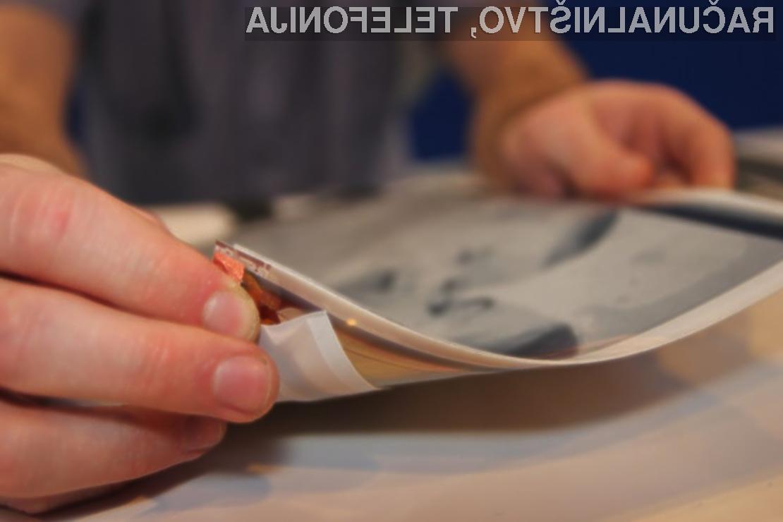 PaperTab: Tablica tanka in upogljiva kot papir