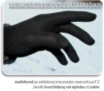 Touchscreen rokavice OX