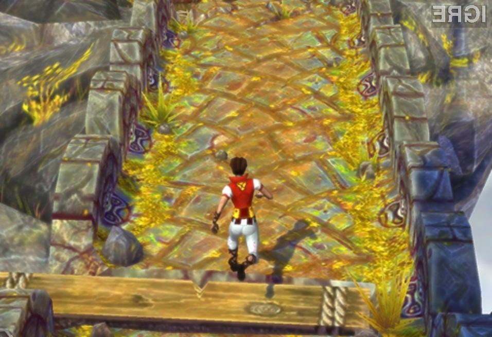 Igra Temple Run 2 se po igralnosti lahko primerja s tistimi za osebne računalnike!