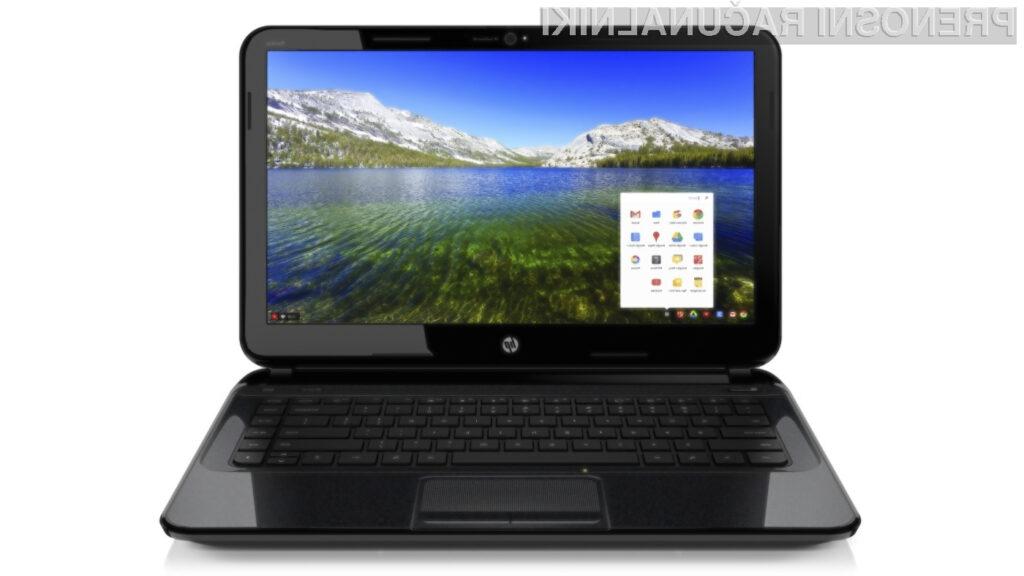 Prenosnik HP Pavilion 14 Chromebook bo kot nalašč tako za vsakdanje delo kot zabavo!
