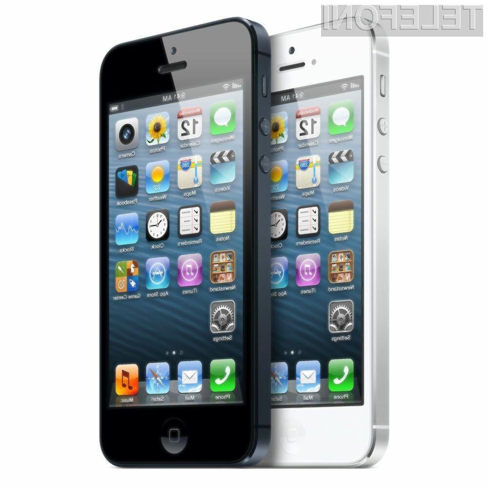 Mobilnik iPhone 5 je veliki zmagovalec raziskave podjetja Strategy Analytics.