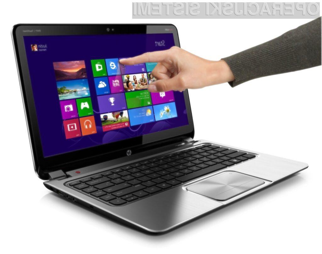 Microsoft za slabo prodajo operacijskega sistema Windows 8 krivi proizvajalce osebnih in prenosnih računalnikov.