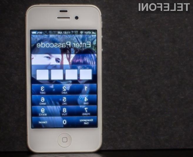 Zaradi ranljivosti mobilnega operacijskega sistema iOS vam lahko nepridipravi kljub vključeni zaščiti izmaknejo podatke iz mobilnika iPhone.