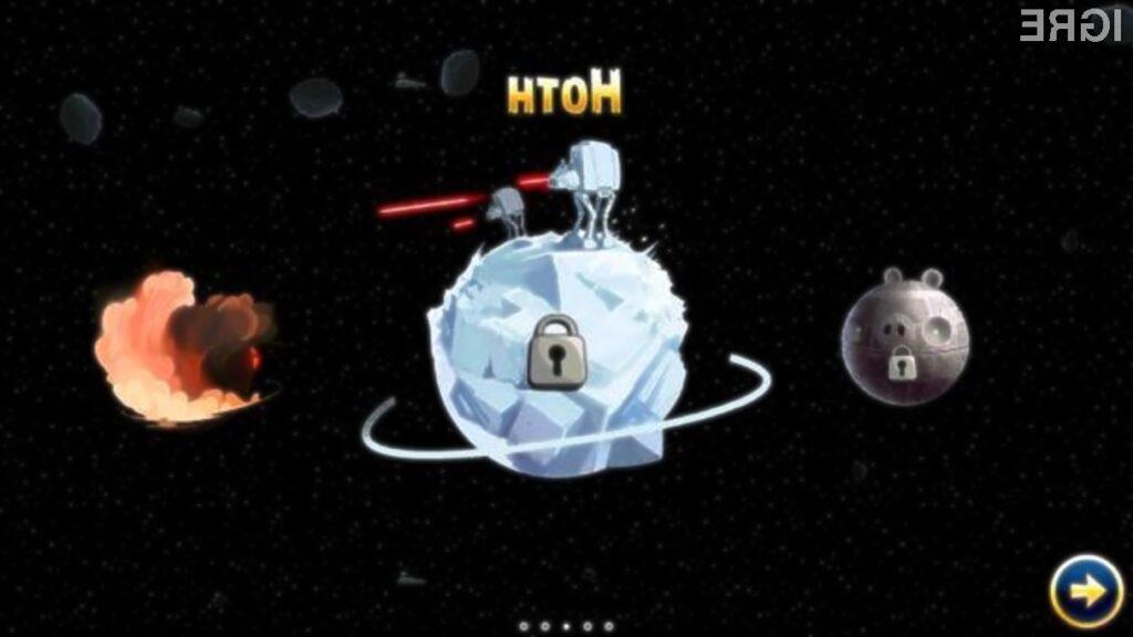 Igra Angry Birds Star Wars Hoth vas bo na mobilnikih Windows Phone 8 zagotovo prevzela!
