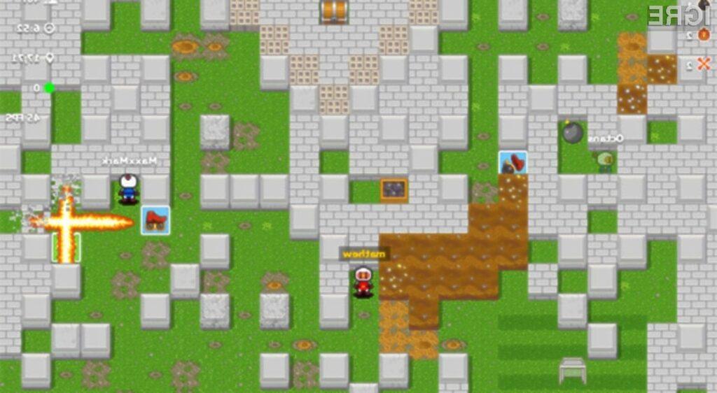 Spletna računalniška igra Bombermine vas bo zlahka prevzela!