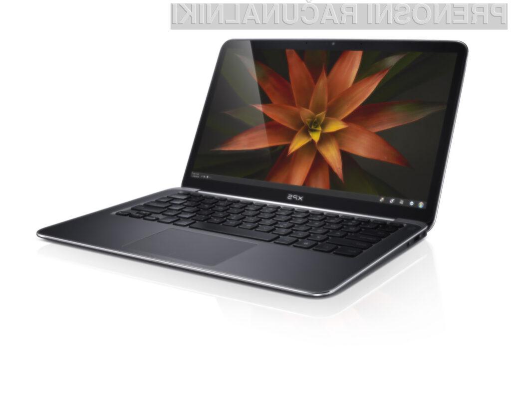 Za izboljšano različico ultrabooka XPS 13 je potrebno odšteti zajeten kupček denarja.