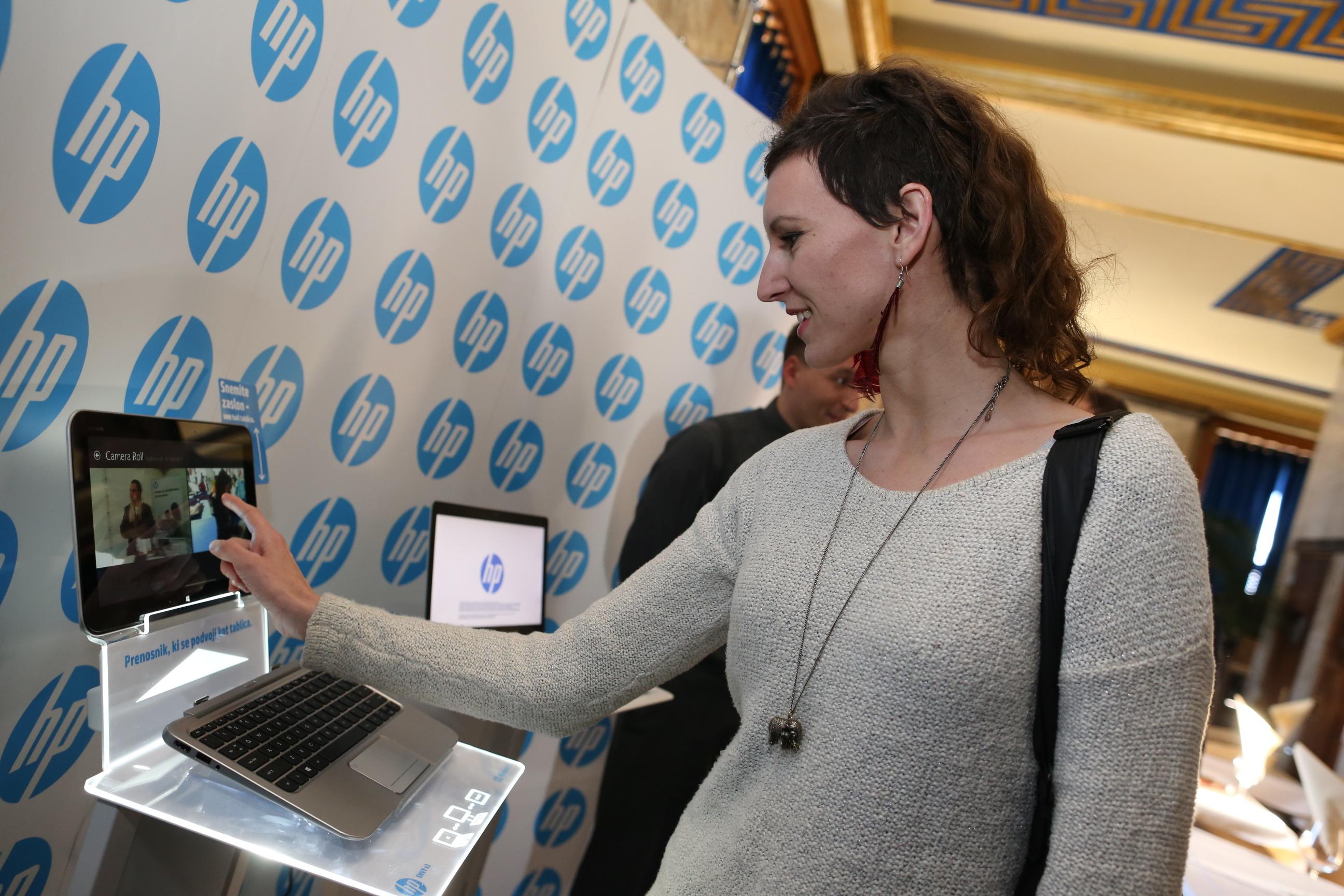 HP predstavil razburljive hibridne in poslovne naprave ter novo multimedijsko storitev