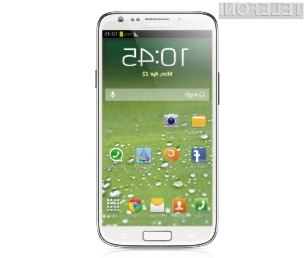 Nekateri pravijo, da naj bi bil to izgled mobilnika Galaxy S IV.