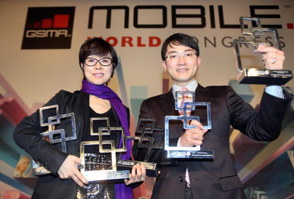 Samsung je na sejmu Mobile World Congress 2013 prejel najprestižnejše nagrade GSMA Awards