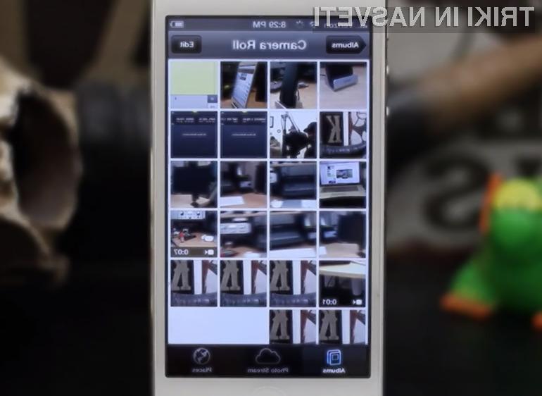 Fotografije na napravah iOS lahko sinhroniziramo tudi brez uporabe iTunesov.