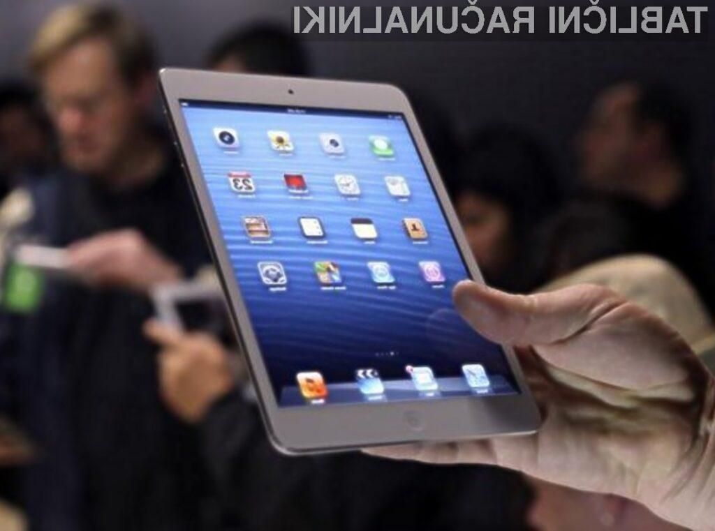 Tablični računalnik Apple iPad mini bo z novim zaslonom postal še uporabnejši!
