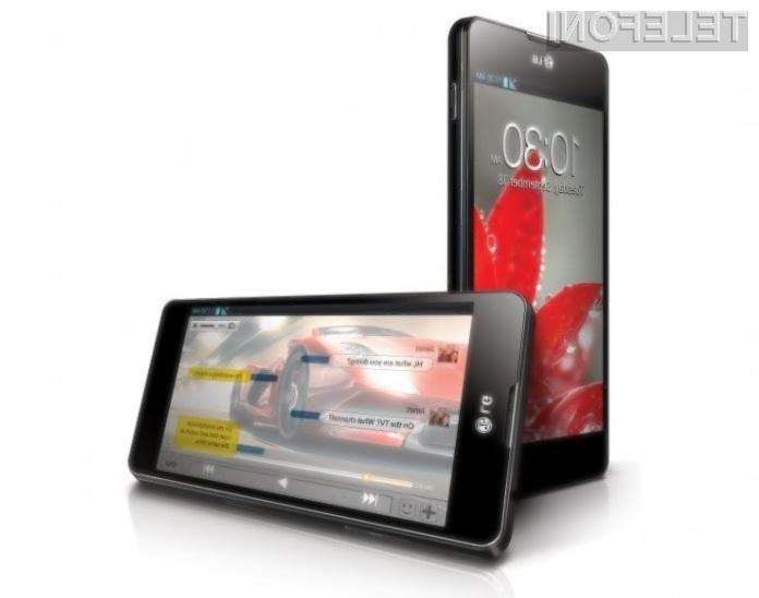 Mobilnik LG Optimus G2 naj bi bil izjemno zmogljiv in nadvse všečen!