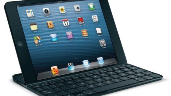 S pomočjo Logitechove tipkovnice bo Applov iPad mini mogoče uporabljati tudi kot prenosnik.