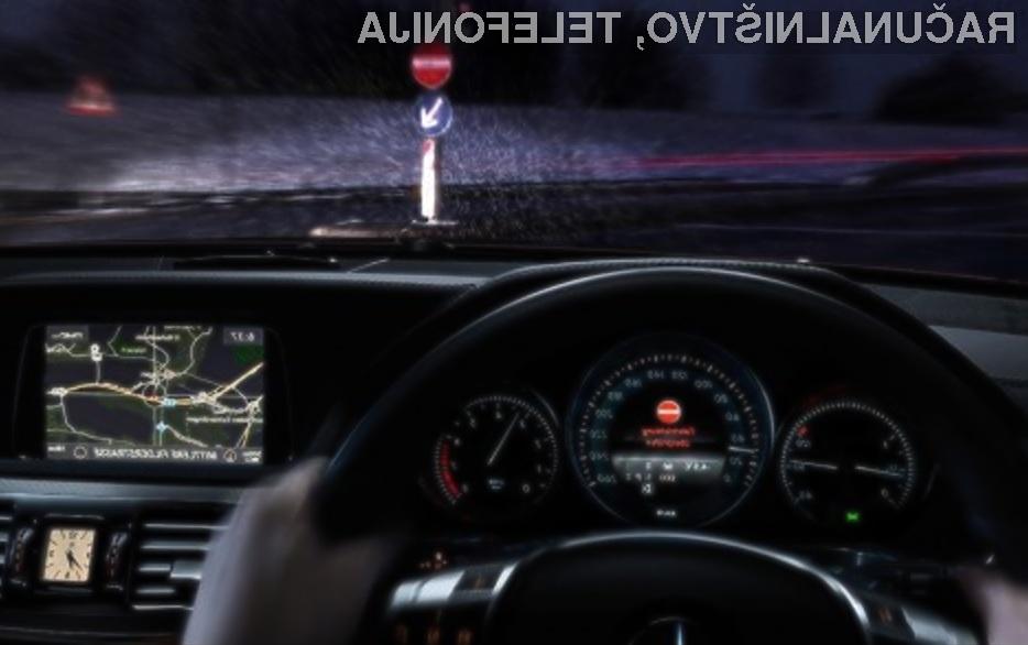 Nova generacija avtomobilov Mercedes družin E in S bo znatno izboljšala prometno varnost!