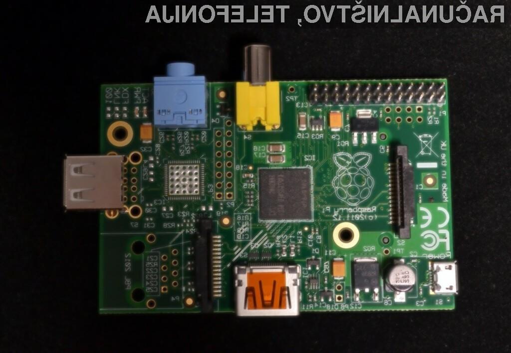 Raspberry Pi model A je zdaleč najcenejši osebni računalnik na modrem planetu!