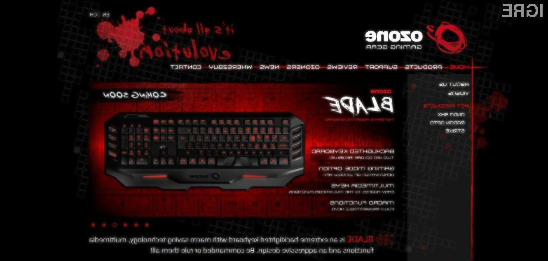 Tipkovnica Blade bo poskrbela za nepozabno igralno izkušnjo