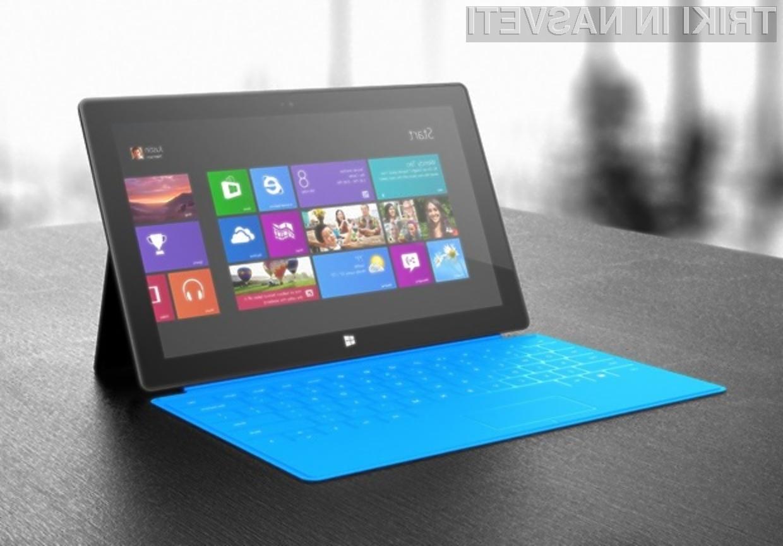 Microsoft verjame, da bodo tablice Surface z manjšimi zasloni šle v prodajo kot vroče žemljice.