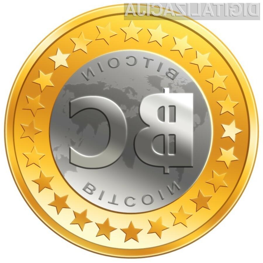 Vrednost elektronske valute Bitcoin v zadnjih letih močno raste.