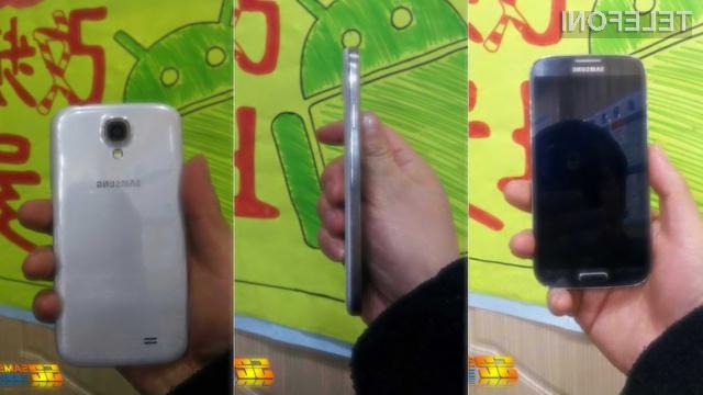 Supermobilnik Samsung Galaxy S4 naj bi bil oblikovno nadvse všečen!