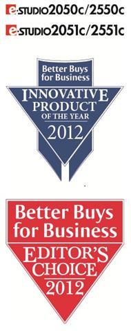 Nagrada Better Buys for Business za Toshiba e-STUDIO