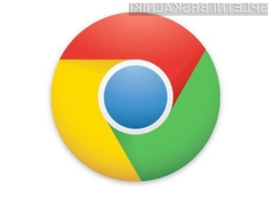 Google Chrome 26 je bogatejši za boljšo podporo črkovanju in modulom za preverjanje angleške slovnice.