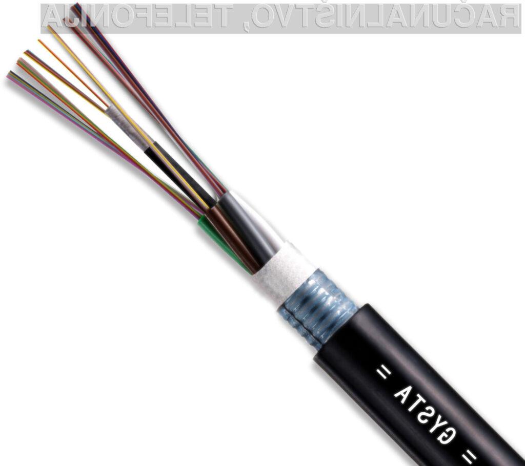 Novi optični kabli so 1000-krat hitrejši od predhodnjih.