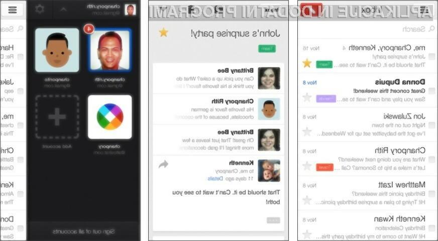 Mobilni Gmail bo odslej bojda veliko bolj pregleden.