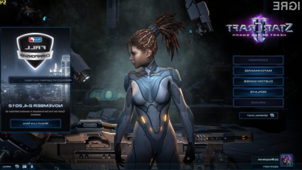 Glavni lik nove zgodbe bo tako imenovana Queen of Blades ali Sarah Kerrigan.