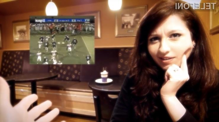 Bomo z novimi očali v času zmenkov lahko spreljali tudi nogometne tekme?
