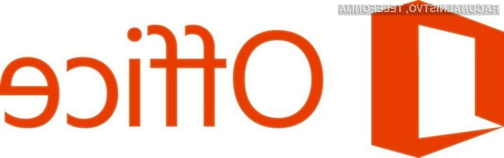 Novi Office za domače uporabnike sedaj tudi v slovenščini
