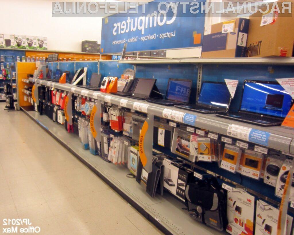 Zanimanje za nakup osebnih in prenosnih računalnikov je iz leta v leto manjše!