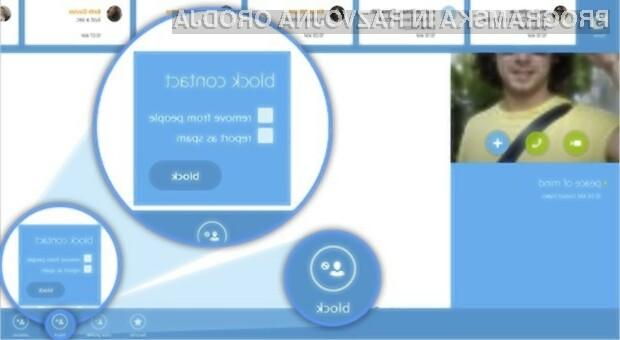 Novi Skype za Windows 8 je bil deležen številnih izboljšav!