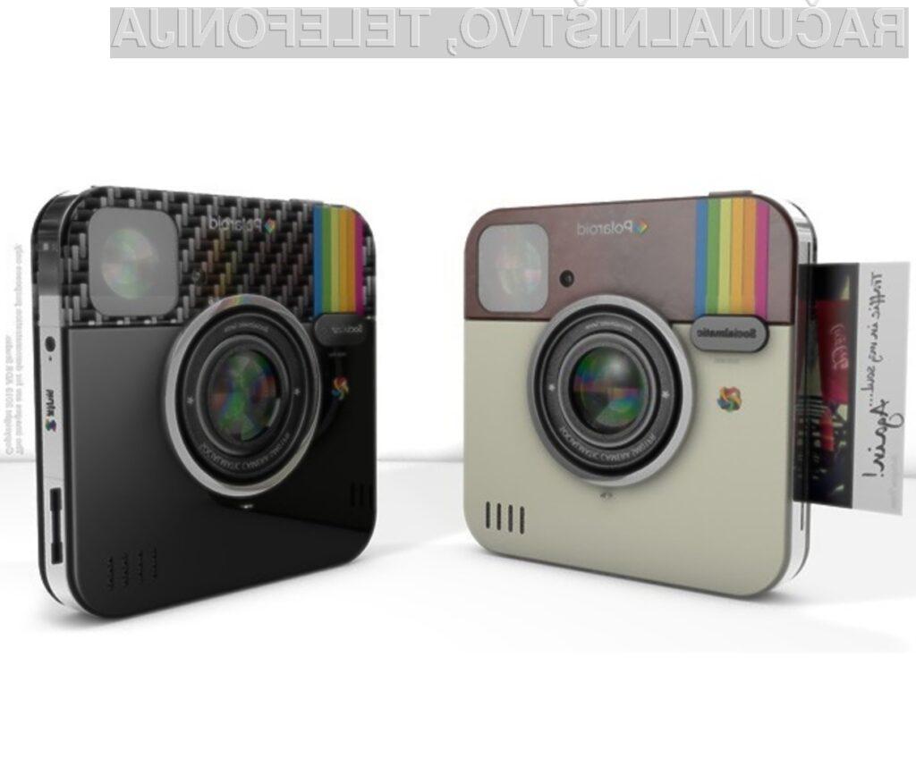 Digitalni fotoaparati Polaroid Socialmatic z Instagramom vas bodo zlahka prevzeli!