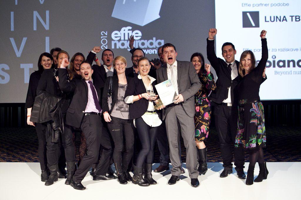 Skupina Telekom Slovenije nagrajena s štirimi nagradami Effie za učinkovitost tržnih komunikacij