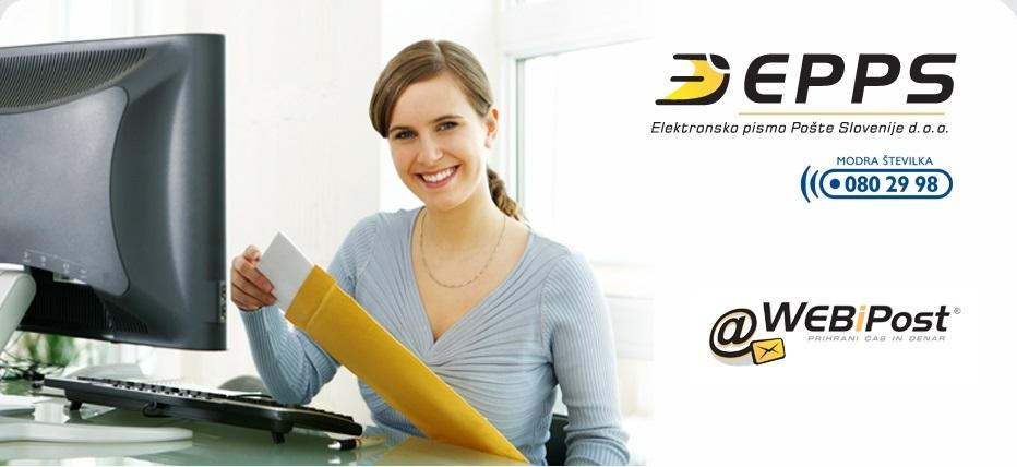 WebiPost – namizna izvedba je izjemna storitev, ki omogoča pošiljanje tiskane pošte enostavno in hitro, kot bi poslali e-pošto.