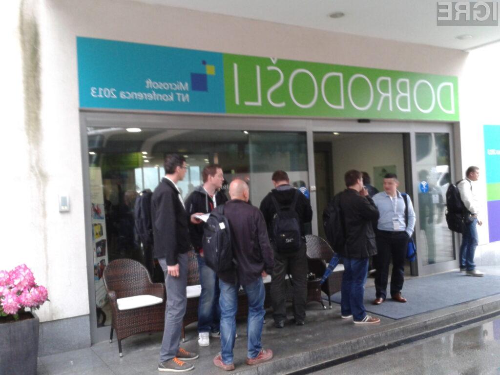 Microsoftova NT konferenca se pričenja danes ob 9.00 v Festivalni dvorani Bled.