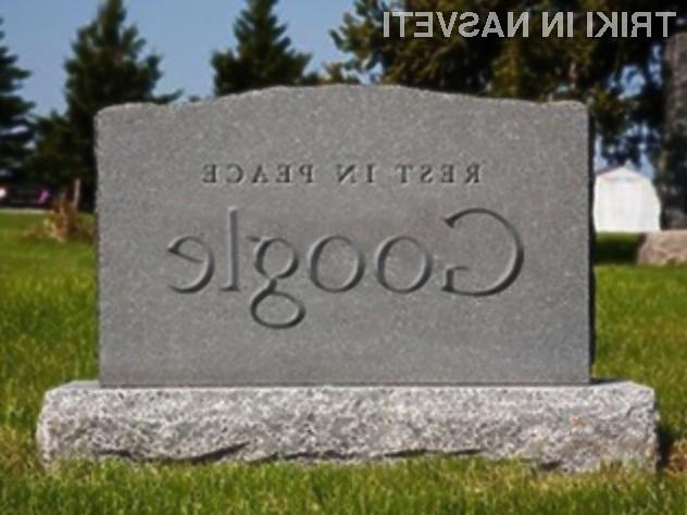 Podjetje Google je uporabnikom omogočilo, da sami odločijo o tem, kaj se bo zgodilo z njihovimi podatki po njihovi smrti.
