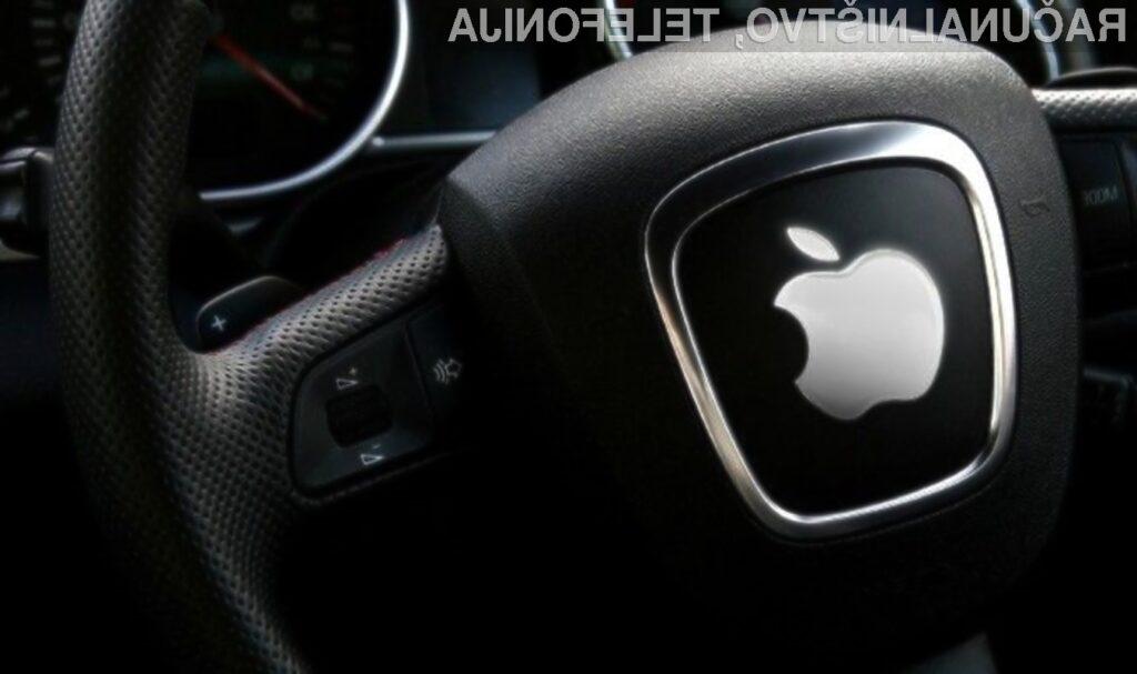 Apple verjame, da bodo v bližnji prihodnosti mobilne naprave in avtomobili tesno povezani!