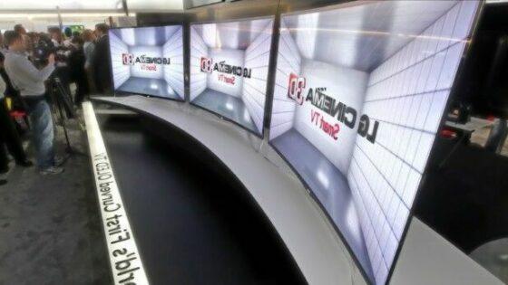 Spremljanje večpredstavnostnih vsebin na televizorju LG 55EA9800 bo zagotovo izjemna izkušnja!