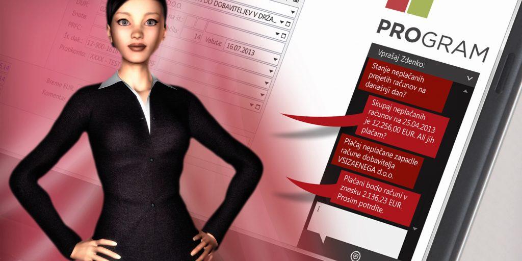 ProGRAM ima sposobnost razumevanja in podjetniku lahko hitro odgovori na vprašanja
