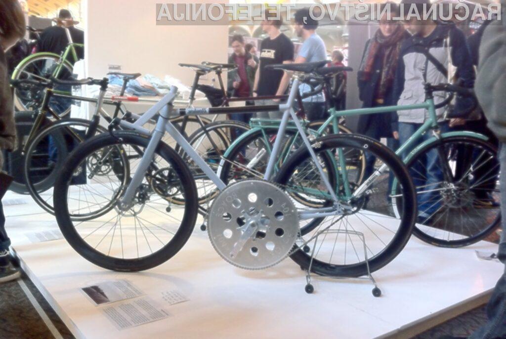 Z inovativnim kolesom podjetja Tom Donhou lahko kolesar doseže končno hitrost do 100 kilometrov na uro.