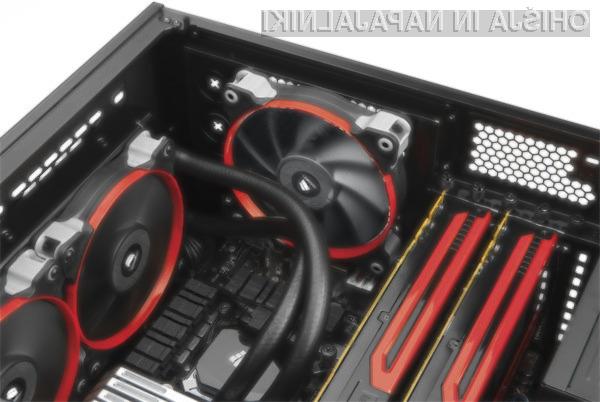 Računalniško ohišje Corsair Obsidian 350D združuje kompaktnost, uporabnost in nizko ceno.