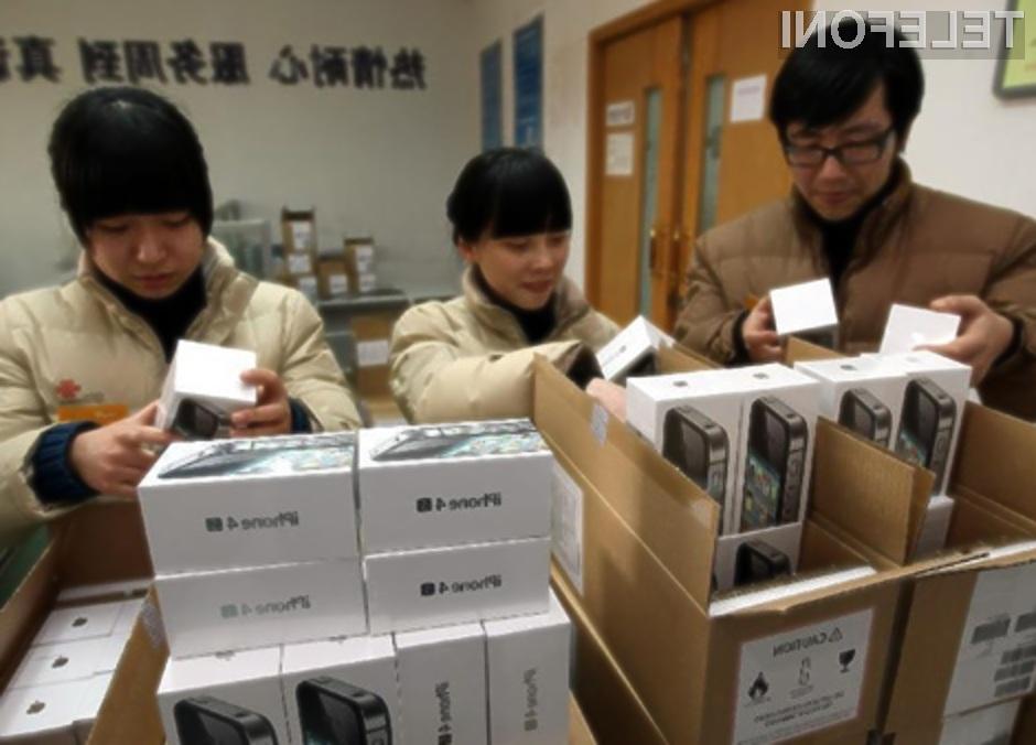 Prevaranti z njihovimi ponarejenimi izdelki zlahka pretentajo tudi zaposlene podjetja Apple.