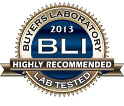 "Certifikat ""Highly Recommended"" BLI"